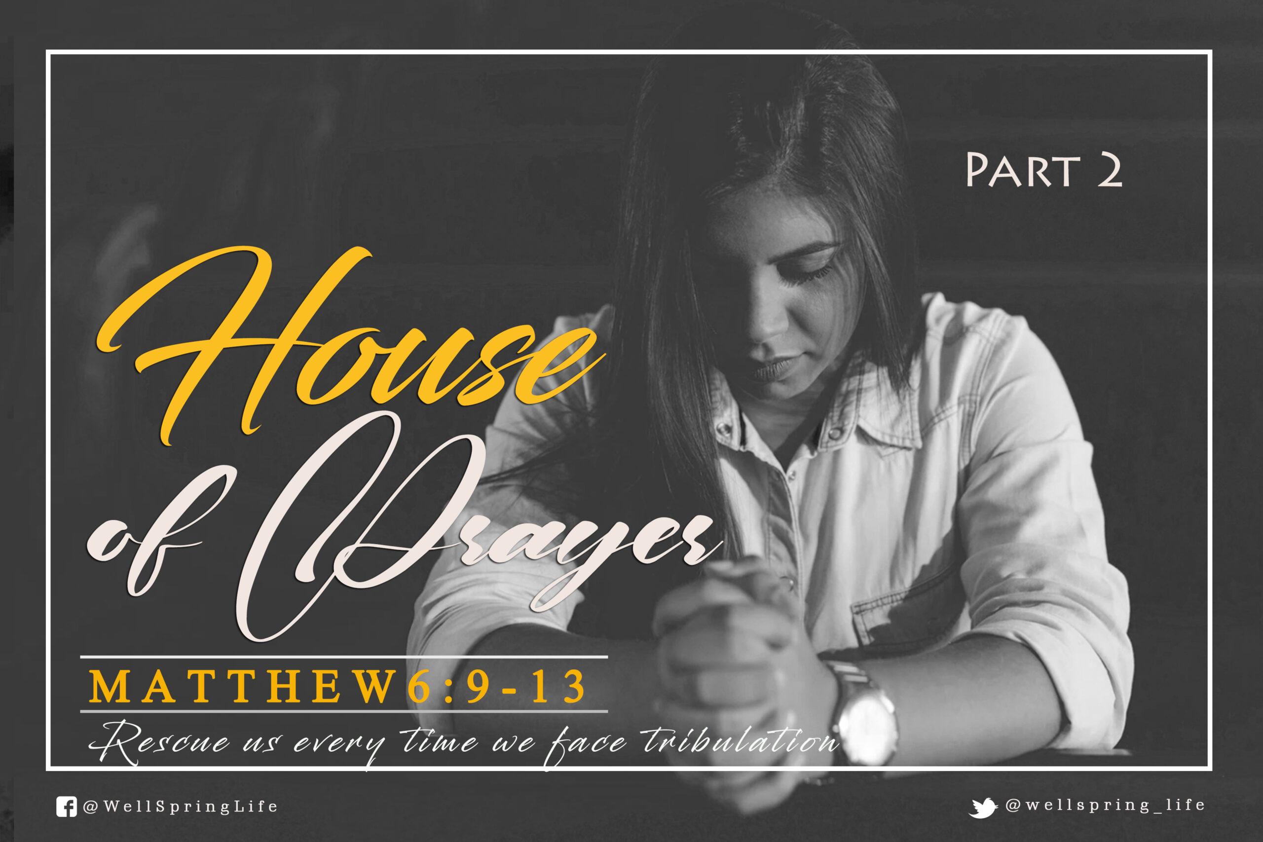 House of Prayer II post thumbnail
