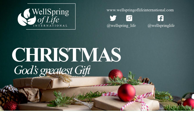 CHRISTMAS – God's Greatest Gift post thumbnail