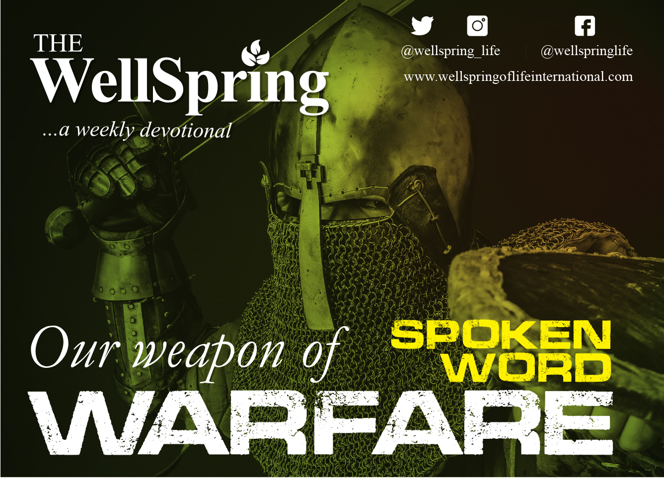 Our Weapons of Warfare – Spoken Word post thumbnail