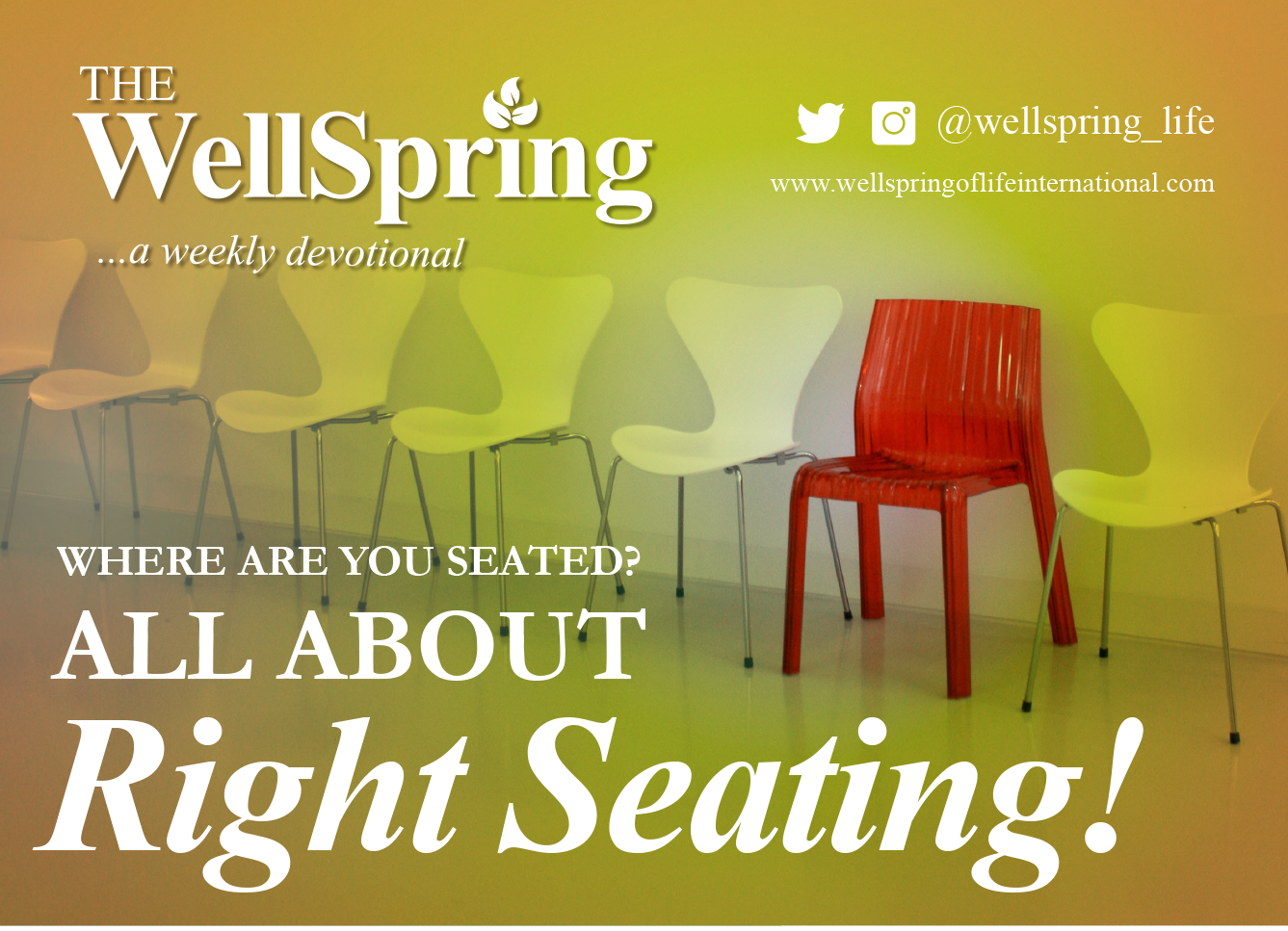 Where are you seated? All about right seating! post thumbnail