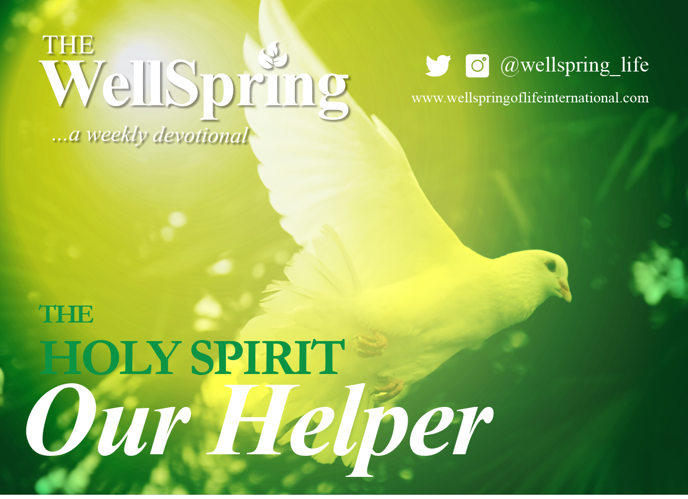 The Holy Spirit-Our Helper post thumbnail