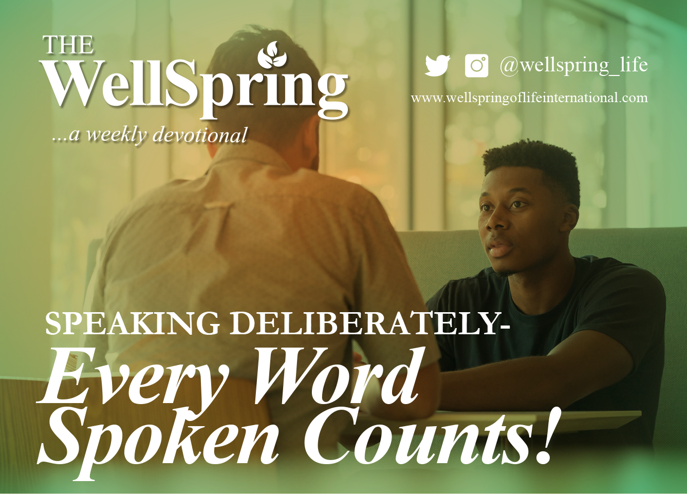 Speaking Deliberately – Every word spoken counts! post thumbnail