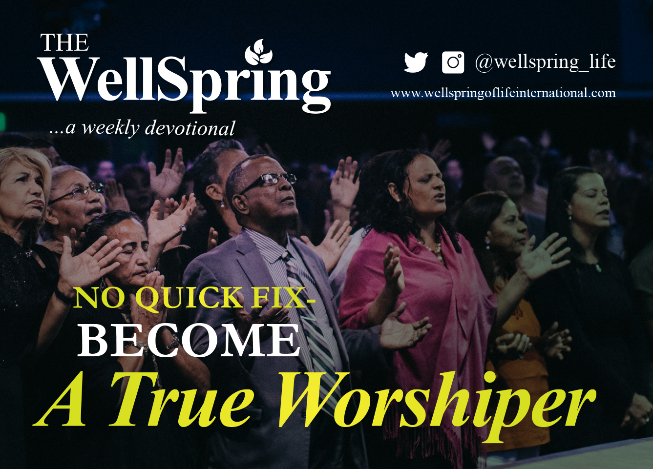 No Quick Fix- Become a True Worshiper post thumbnail