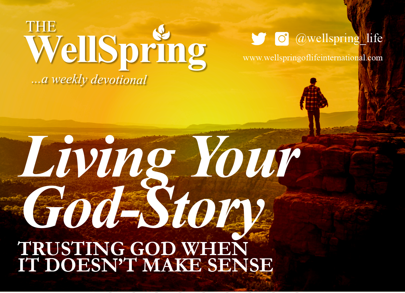 Living Your God-Story (Trusting God When it Doesn't Make Sense) post thumbnail