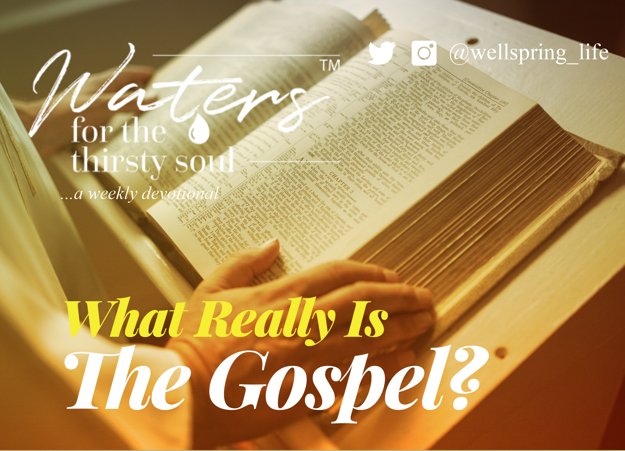 What Really Is The Gospel? post thumbnail